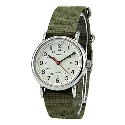 Timex Men S Weekender Analog Canvas Strap Watch