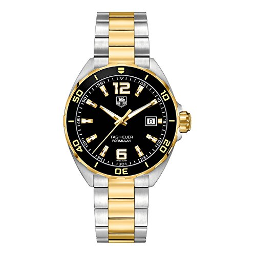 1c58245e3b2e TAG Heuer Men s  Formula 1  Swiss Quartz Gold and Stainless Steel Dress  Watch