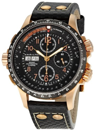 Men s Hamilton Khaki Aviation X-Wind Automatic Chronograph Watch afb6199a1d8b