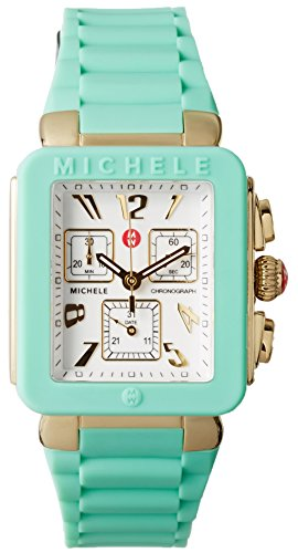 aac2ac641b4e6 Michele MWW06L000024 Watch Park Jelly Bean Ladies – White Dial Steel Case  Quartz Movement