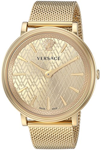 f3d99ed7 Versace Women's 'THE MANIFESTO EDITION' Quartz and Stainless-Steel ...
